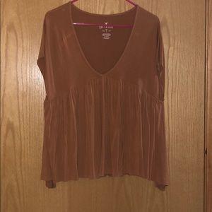 Rust color shirt